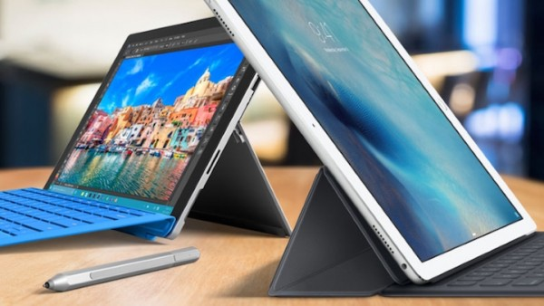 El iPad Pro de Apple le ha ganado la partida a la Microsoft Surface