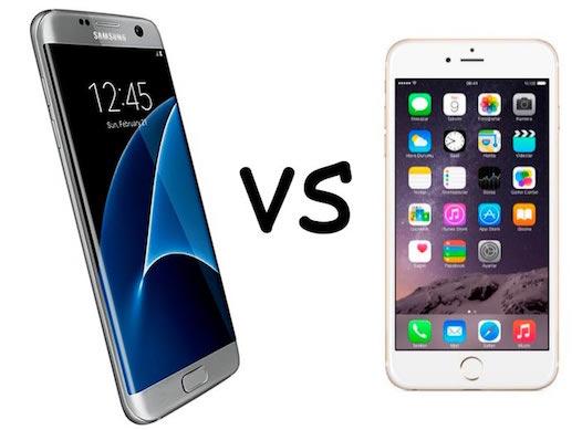 El iPhone 6s destroza al nuevo Galaxy S7 en una prueba de velocidad
