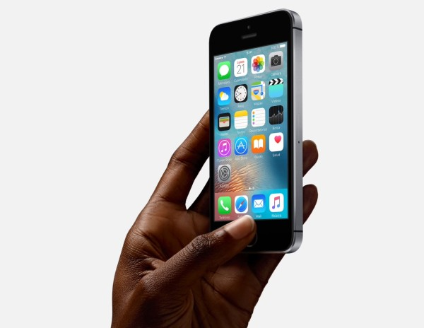 iPhone SE Space Grey