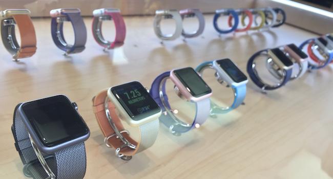 apple watch vs apple watch 2