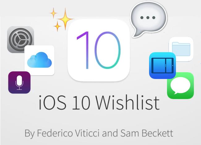 iOS 10 crece en un increíble concepto. Así lo queremos