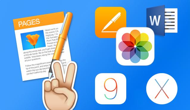 Tutorial Pages: insertar imágenes y exportar archivos (OS X o iOS)
