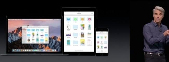 icloud drive mac os sierra apple