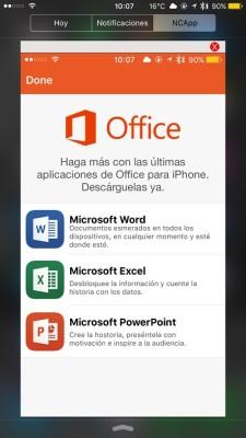NCApp app