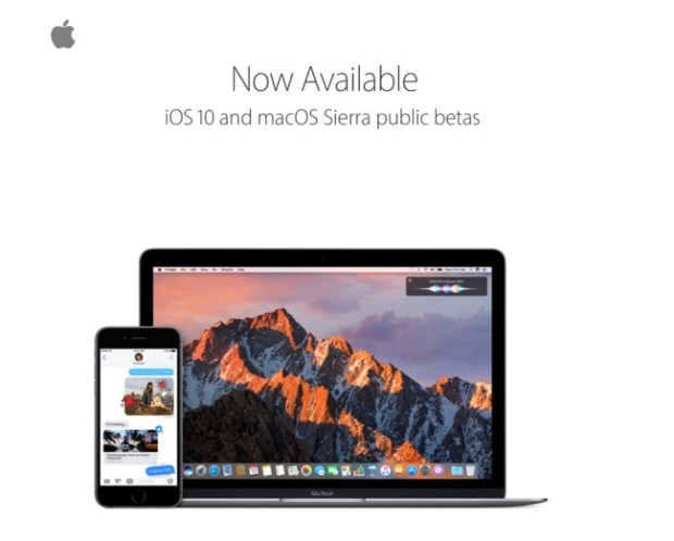 iOS 10 y macOS Sierra ya disponibles