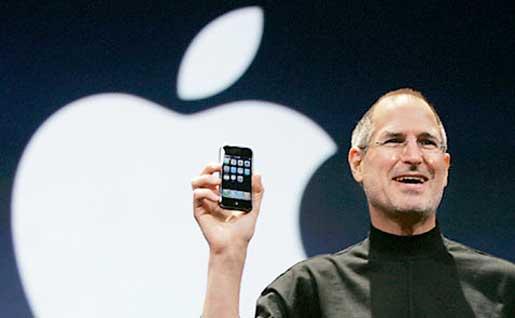 5.- Jobs presenta el iPhone, desde ese momento ya nada ha sido igual.