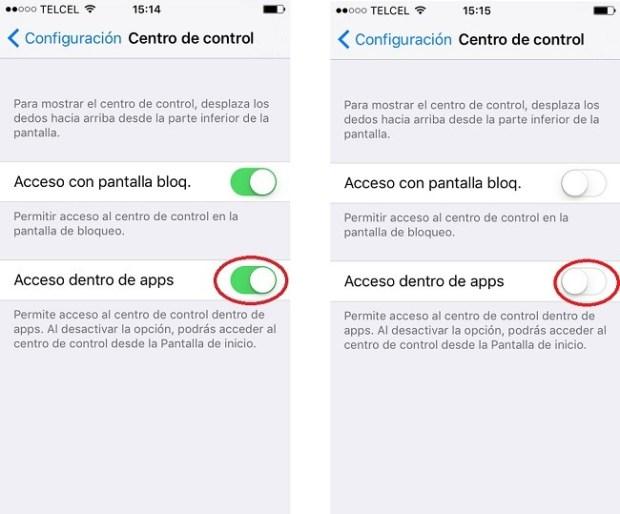Centro de Control iOS 10_4