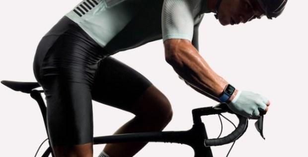 Apple Watch - exercise bike