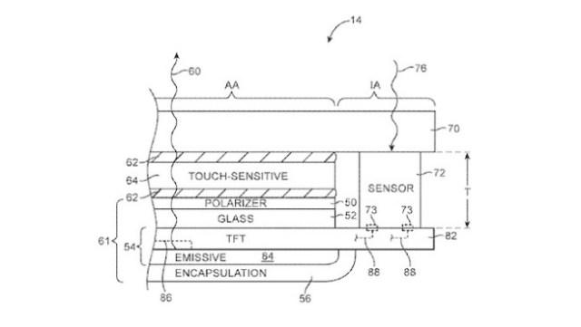 Apple Sensor Patente octubre 2016