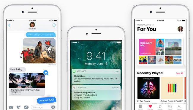 Apple lanza iOS 10.2 beta 7, otra más