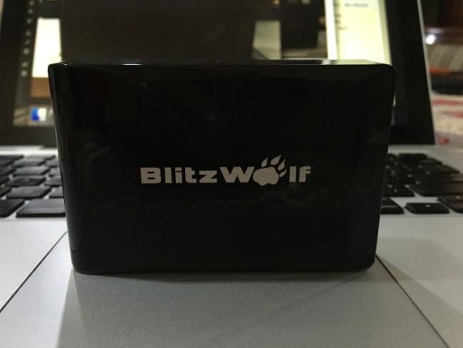 BlitzWolf cargador inteligente de 40W con 5 puertos de alta velocidad
