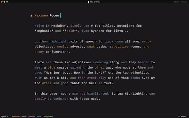 iOS - iA Writer