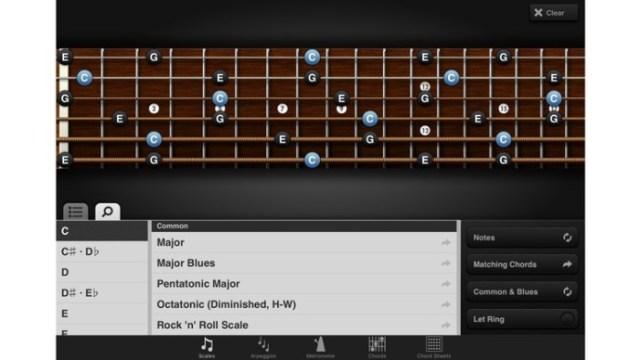 aprende guitarra con el ipad 4