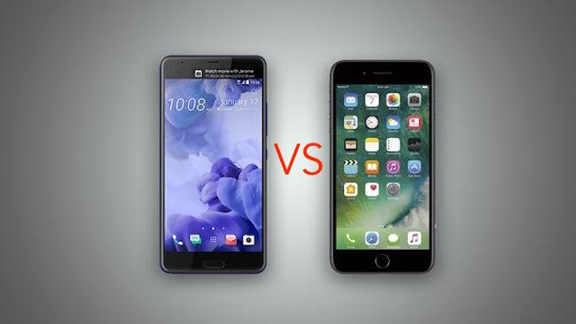iPhone 7 Plus VS HTC U Ultra ¿Cual es el más veloz?