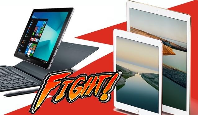 iPad Pro vs Samsung Galaxy Book: dos gigantes enfrentados