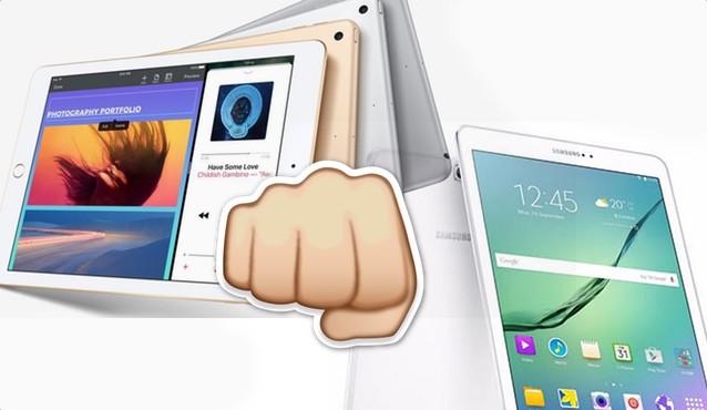 El nuevo iPad de 2017 frenta al Samsung Galaxy Tab S3, ¿cuál es mejor?