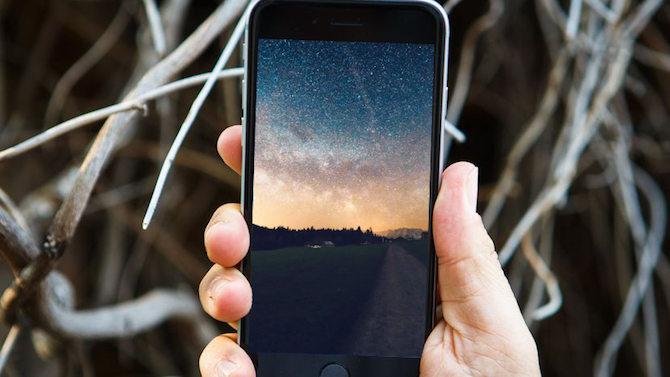 Un fondo de pantalla para tu iPhone con mucho espacio