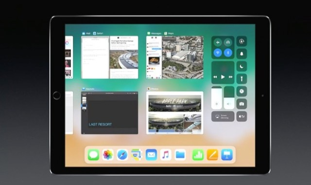 iOS 11 iPad App Switcher