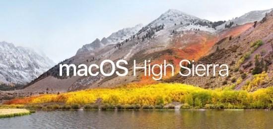 macOS High Sierra es el nuevo sistema operativo de Apple
