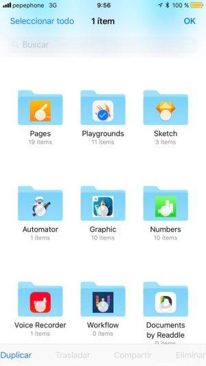 Aplicaciones Files