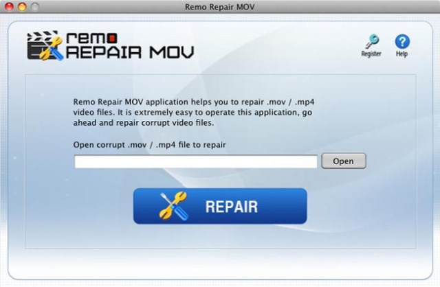 Remo Repair MOV para Mac