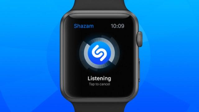 Shazam para el Apple Watch