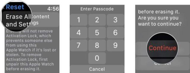 Eliminar Apple Watch sin iPhone 2