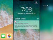iOS 11.1 iPhone X Lock Screen_02