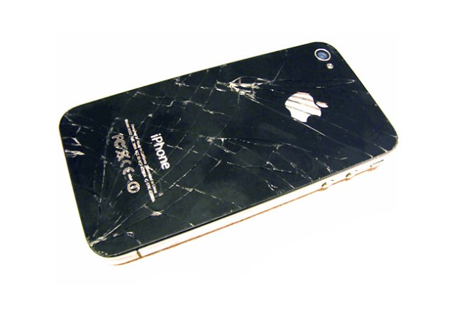 iphone cristal roto