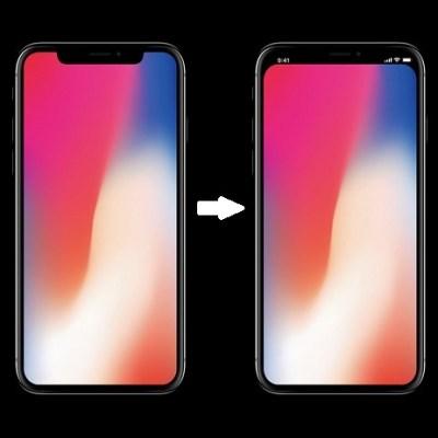 Marcas negras iPhone X