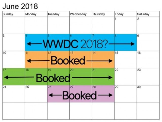 Calendario McEnery Junio 2018