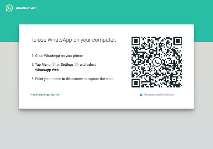 Alternativa para usar WhatsApp web en el iPad