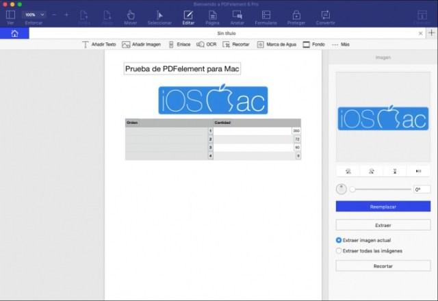 Editor de PDF en PDFelement