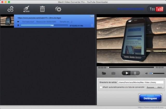 MacX Video Converter Pro - Descarga YouTube