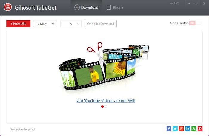 gihosoft-tubeget videos de youtube