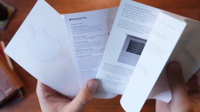MacBook Pro 2018 documentacion
