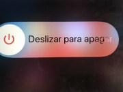 Deslizar para apagar iPhone