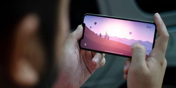 iPhone videojuego