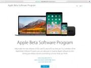 Apple y betas