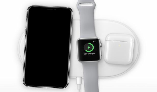 AirPower con los productos de Apple