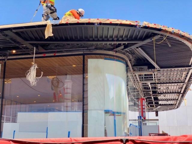 Apple Store en Polanco en construcción