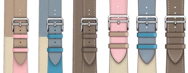 Correas de nuevos colores para el Apple Watch