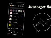 El modo oscuro llego a Facebook Messenger