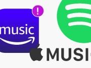 Amazon music apple spotify