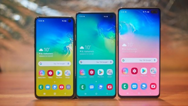 Samsung Galaxy S10 gama