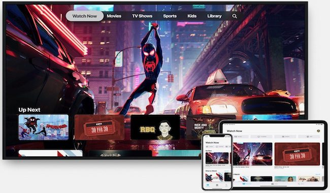 iOS 12.3 final app TV