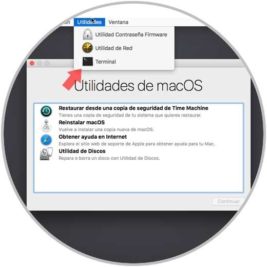 Utillidades de MacOS