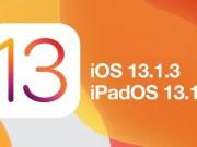 iOS 13.1.3 iPadOS 13.1.3