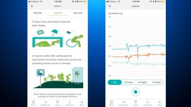 Aviso de terremotos y medias de seguridad para los usuarios de MyShake