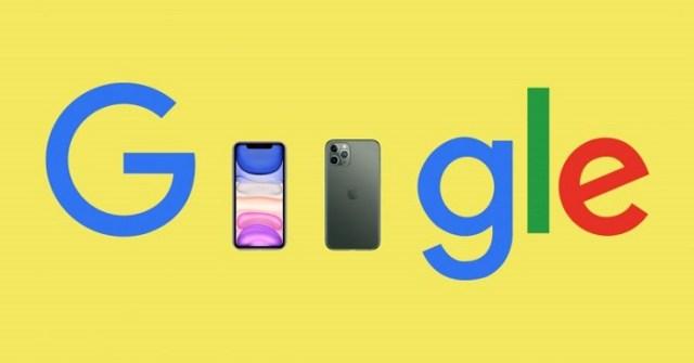 iPhone 11 en Google